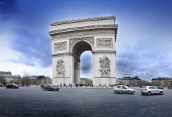 Arc de Triomphe Panormaic