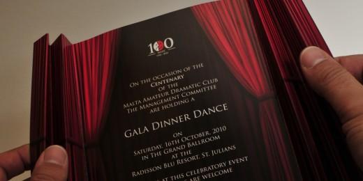MADC Centenary Invite