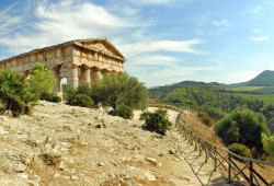 The Ancient Greek Theatre at Segeste