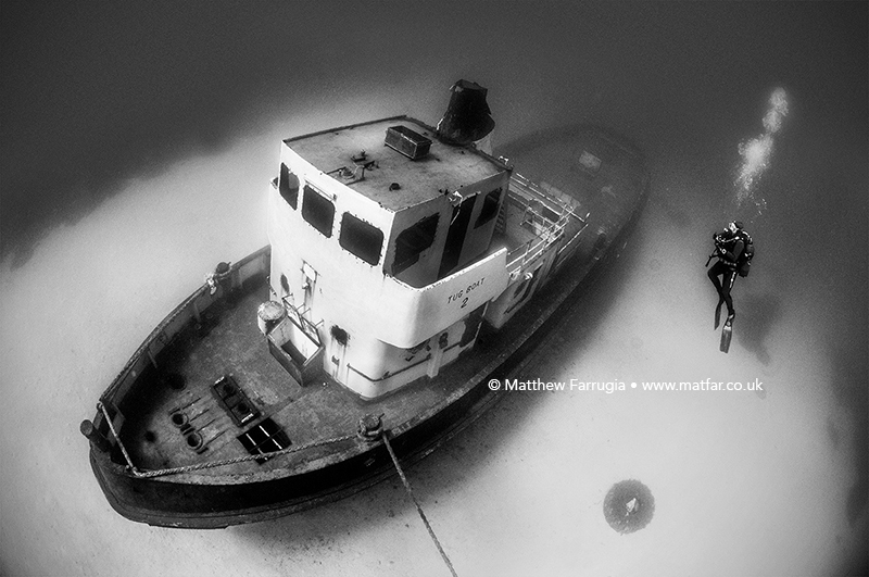 Tug 2 off Exiles (DSF5617) 3rd Place in the BW Category
